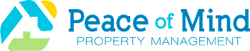Peace of Mind Property Management Logo